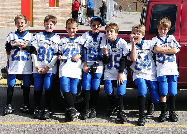 October 15th, 2005: The 2005 Shelby Lions Football Club Freshman team vs. the Troy Cowboys at Troy Athens High School (Troy 25, Shelby 0).