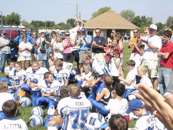 September 11th, 2005: The 2005 Shelby Lions Football Club Freshman  team vs. the Clawson Mavericks at the Shelby Lions Football Club Field (Shelby 28, Clawson 0).