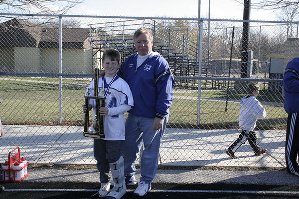 November 13th, 2005: Superbowl - The 2005 Shelby Lions Football Club Freshman team vs. the Troy Cowboys at Hurley Field (Troy 27, Shelby 0).