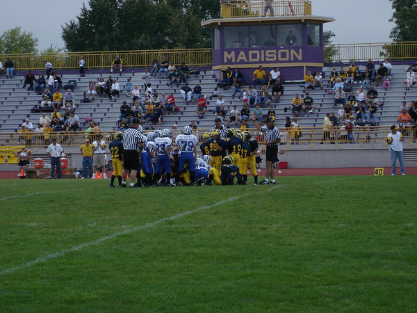 September 24th, 2005: The 2005 Shelby Lions Football Club Freshman team vs. the Madison Heights Wolverines at Madison High School (Shelby 20, Madison Heights 6).