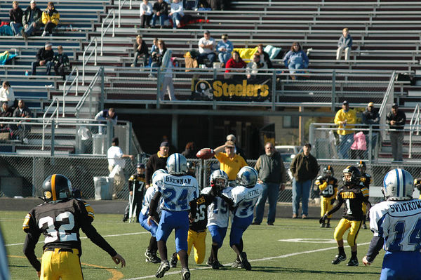 October 29th, 2005: The 2005 Shelby Lions Football Club Freshman team vs. the Berkley Steelers at Hurley Field (Shelby 12, Berkley 6).