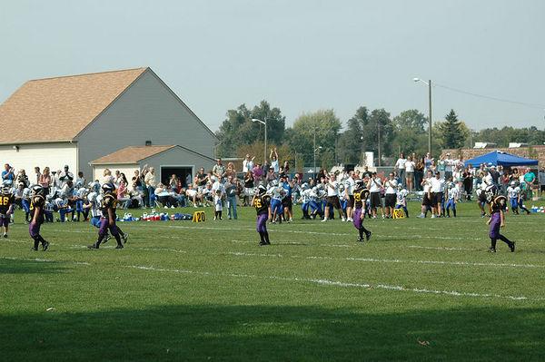 October 2nd, 2005: The 2005 Shelby Lions Football Club Freshman team vs. the North Farmington/West Bloomfield Vikings at the Shelby Lions Football Club Field (Shelby 13, North Farmington/West Bloomfield 6 - Overtime).
