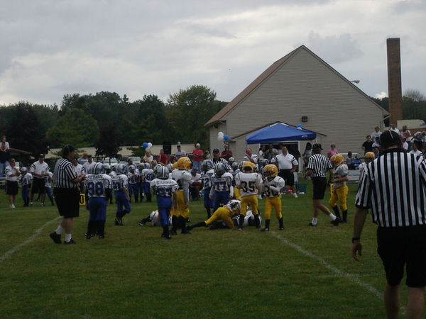 September 17th, 2005: The 2005 Shelby Lions Football Club Freshman team vs. the Royal Oak Chargers at the Shelby Lions Football Club Field - Homecoming and 25th Anniversary (Shelby 32, Royal Oak 0).