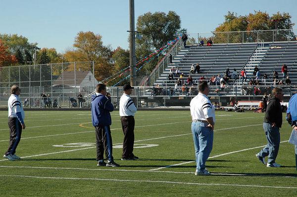 October 29th, 2005: The 2005 Shelby Lions Football Club Freshman team vs. the Berkley Steelers at Hurley Field (Shelby 12, Berkley 6).