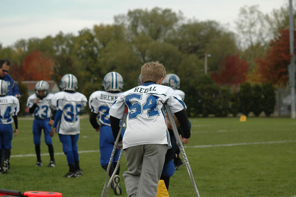 October 22nd, 2005: The 2005 Shelby Lions Football Club Freshman team vs. the Royal Oak Chiefs at Royal Oak Memorial Park (Shelby 20, Royal Oak 2).