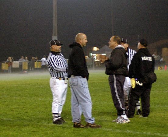 Game #6 - September 30, 2006: The 2006 Shelby Lions Football Club Varsity Team vs. the Clawson Mavericks at Clawson Park (Shelby 6, Clawson 33).
