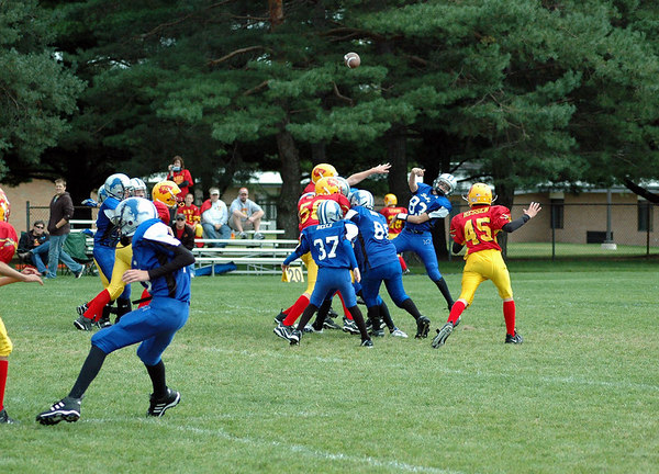 Game #3 - September 10, 2006: The 2006 Shelby Lions Football Club Varsity Team vs. the Royal Oak Chiefs at Shelby Lions Home Field (Shelby 0, Royal Oak 26).