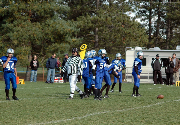 Game #8 - October 14, 2006: The 2006 Shelby Lions Football Club Varsity Team vs. the Troy Cowboys at Shelby Lions Home Field (Shelby 0, Troy 32).