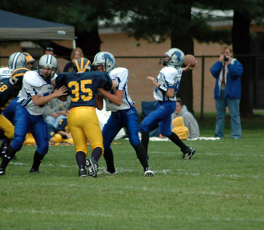 Game #2 - September 2, 2006: The 2006 Shelby Lions Football Club Varsity Team vs. the Madison Heights Wolverines at Shelby Lions Home Field (Shelby 0, Madison Heights 32).