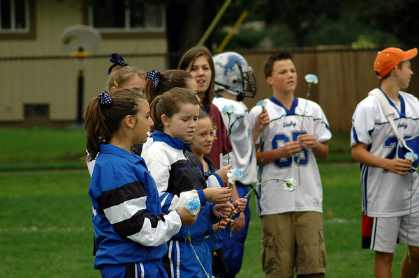 Game #5 - September 23, 2006: The 2006 Shelby Lions Football Club Varsity Team vs. the Berkley Steelers at Shelby Lions Home Field (Shelby 0, Berkley 32).