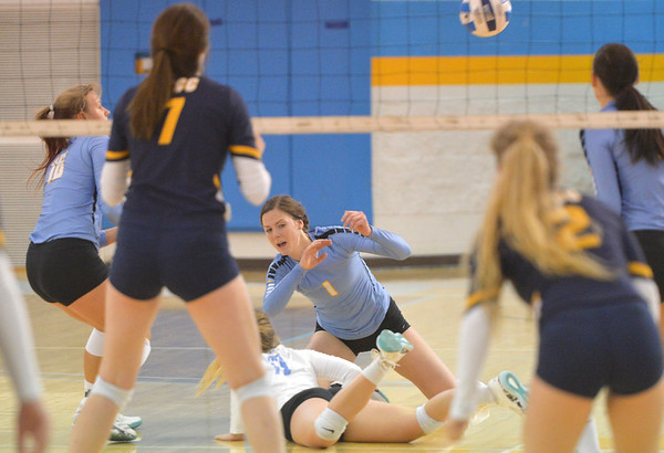 Generals Volleyball Fall to LCCC