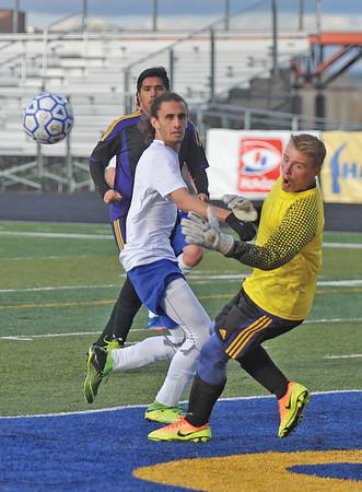 Sheridan High School boys soccer battles Campbell County