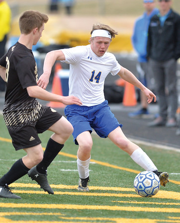 Sheridan High School's boys and girls soccer teams swept Buffalo