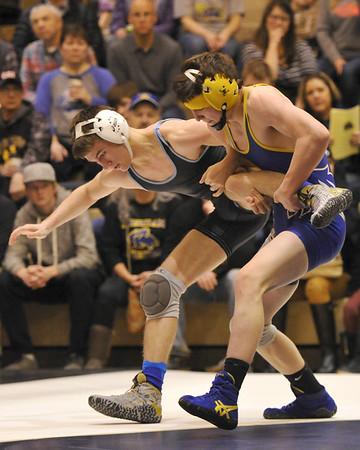 Sheridan Wrestling vs Cheyenne East