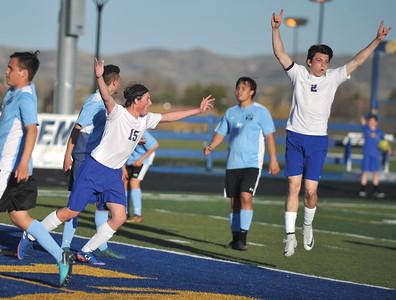 Sheridan soccer teams battle Cheyenne East