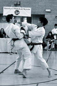 I had good control on that one I think. Really that I don't want to hurt anyone at all.  Shinkyu Shotokan Karate Tournament, South San Francisco.