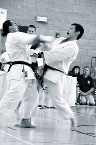 Shinkyu Shotokan Karate Tournament, South San Francisco.