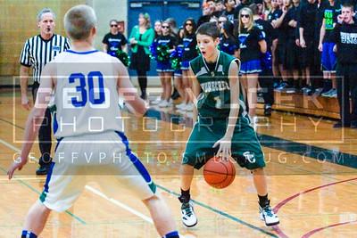 12/7/12- Shorecrest vs Shorewood JV boys basketball