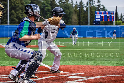 5/11/13- Shorewood vs Glacier Peak varsity baseball playoffs