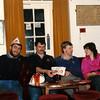 David Croft,Arwyn Jones,Robin Chapman and Sue Chapman