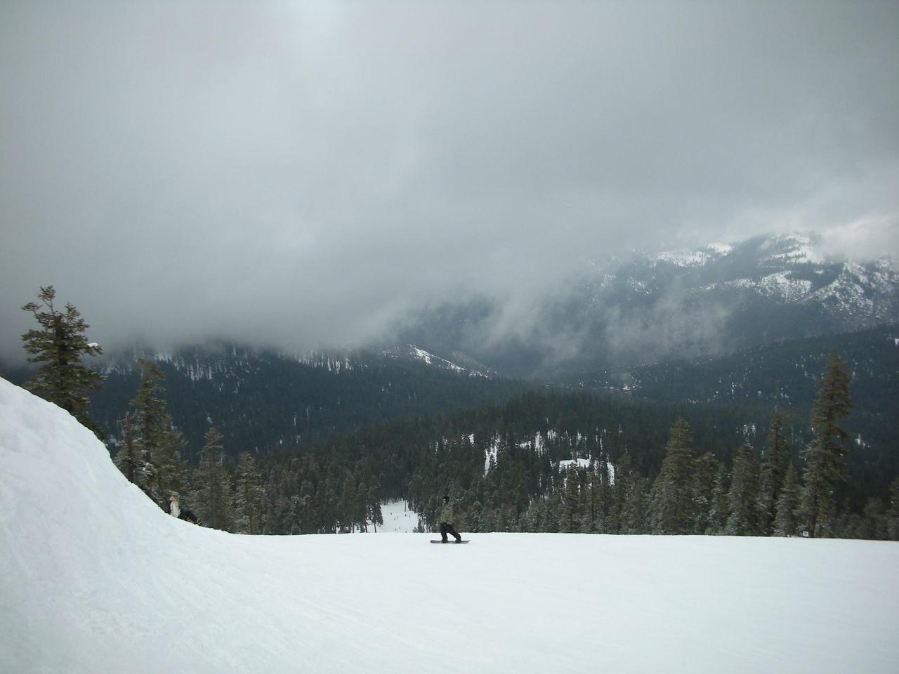 Ahhh...the Sierras! Sierra at Tahoe Ski Resort on Westbowl Side