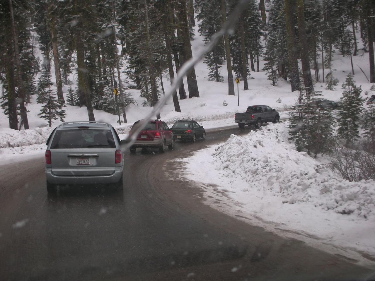 And still in traffic.....