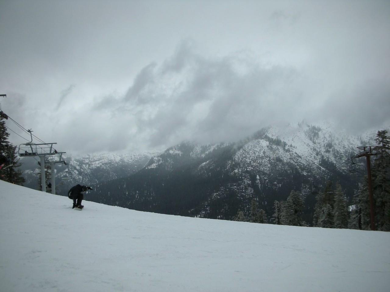 Still skiing....