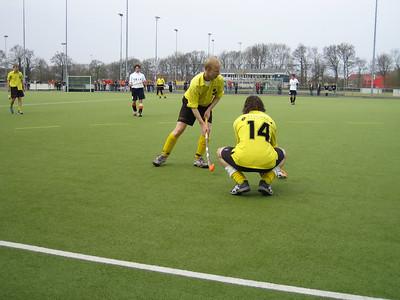 20060423 Heren I 23 april 2006 Foto gedateerd 23 april 2006 DVD met als opschrift DHV Hockey D 1 H 1