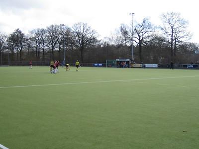 20060326 Dames I 26 maart 2006  DVD met opschrift DHV hockey D 1 H 1