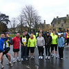 some of our brave runners for the start of the new season at bourton