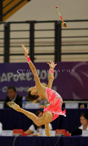 Singapore Youth Olympic 2010.Gymnastics at Singapore Bishan Stadium