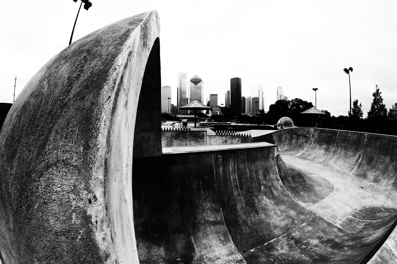 Jamail Skate Park - Houston, Texas