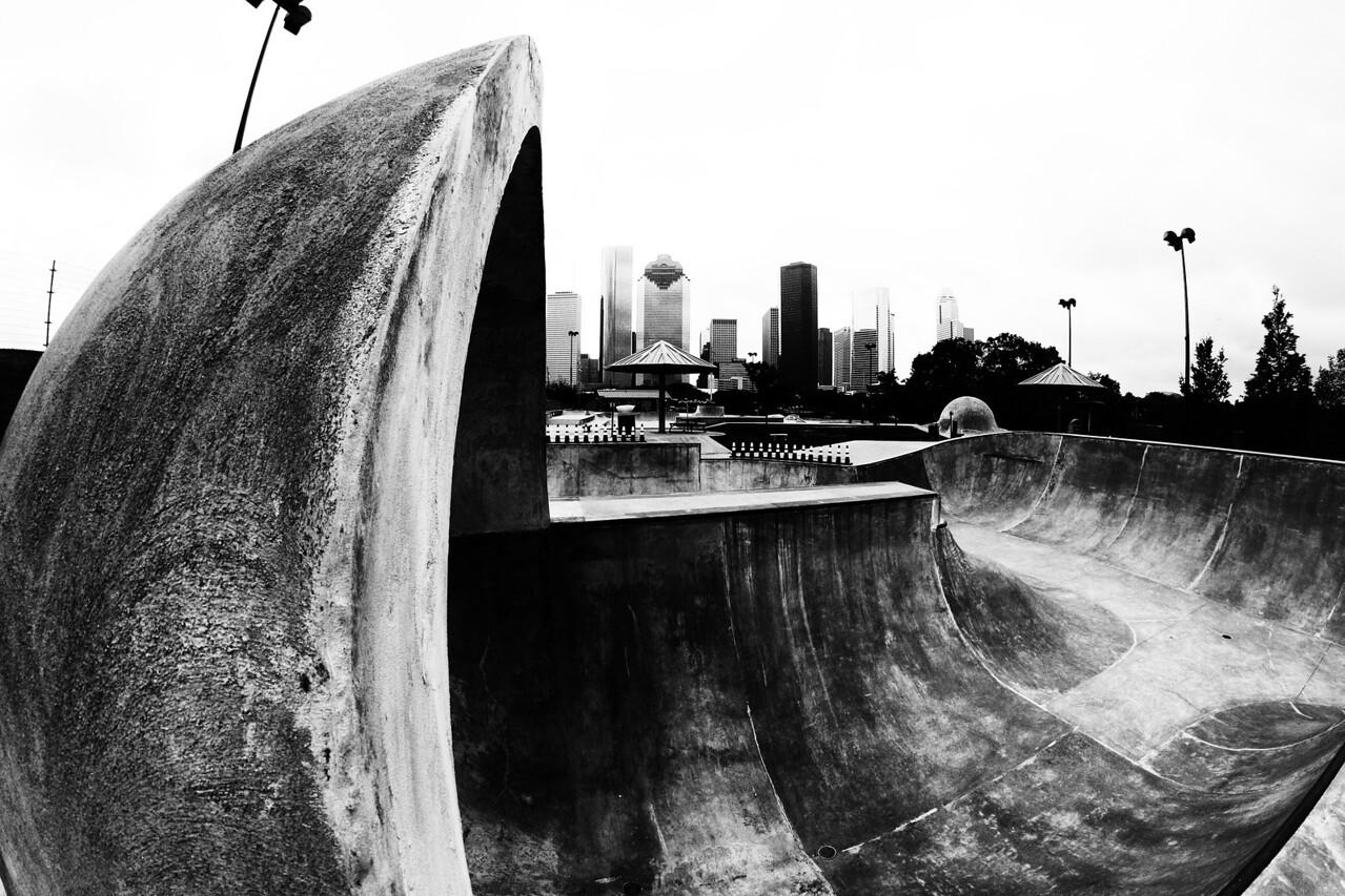 Jamail Skate Park - Houston, Texas