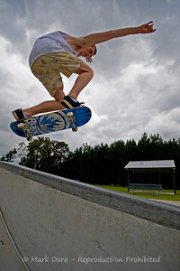 Summer storm skate, Tea Gardens, NSW