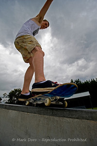 Summer storm skate, Tea Gardens, NSW