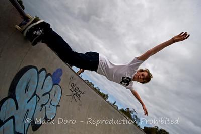 Bowl, Newport Skate Park