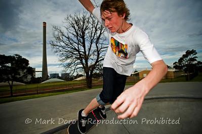 Frontside, Newport skate park