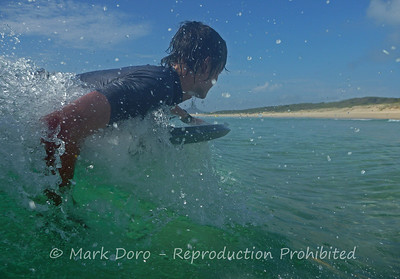 Tom, Boogie Boarding, Hawks Nest, NSW