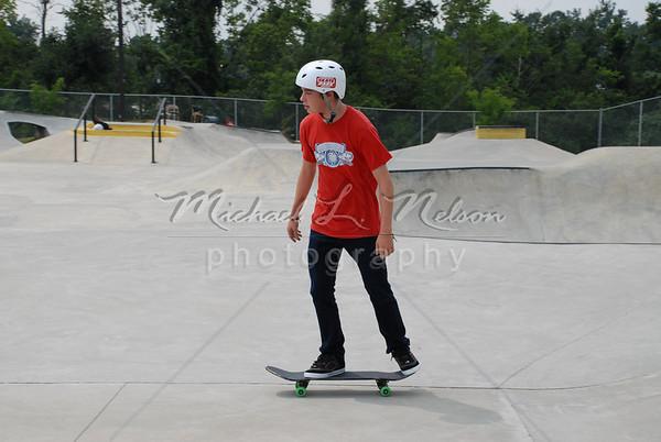 Skateboarder Errol Ringgenberg