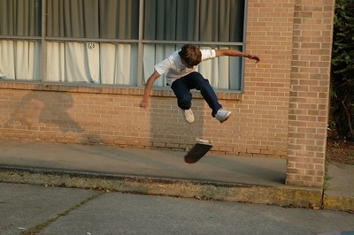 Skateboarding Cradock 10/22/2005