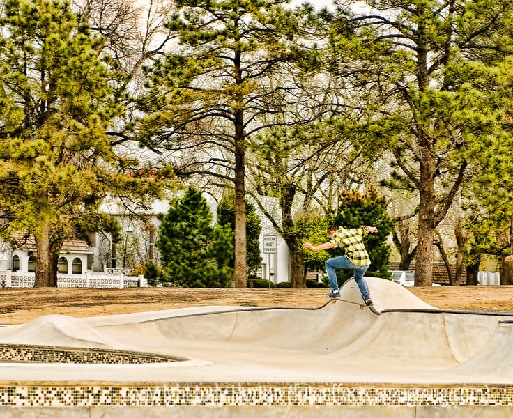 Skateboarder!