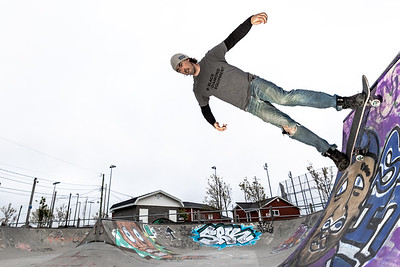 Smallwood Skate Park in Mount Pearl with Terry Day