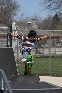 Andrew getting air