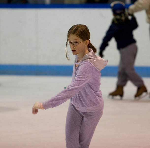 My daughter practices several times a week.