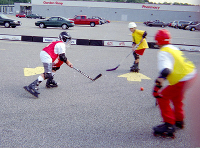 Skating with the Cincinnati Cyclones 1999