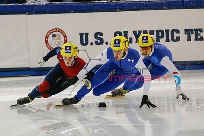 Short Track Speedskating: U.S. Olympic Trials-500m