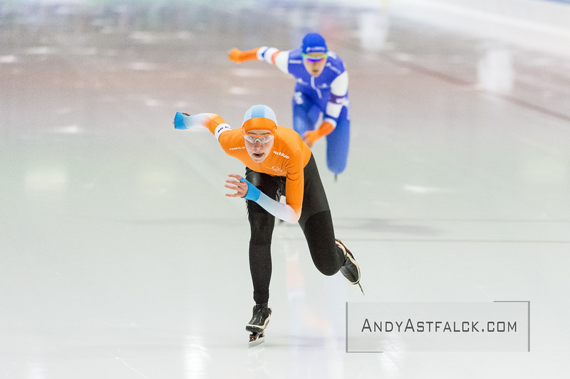 KPN NK Sprint & Allround 2016 held at Isstadion Thialf Heerenveen Netherlands on the 22nd of January 2016