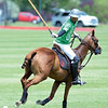 Joel Moline | The Sheridan Press<br /> Nicolai Galindo hits a offside backhand hit at the Flying H Polo Club on Thursday, Aug. 1, 2019.