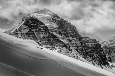 S. Alan Hogg, Lake Louise Backcountry, Lake Louise Owned
