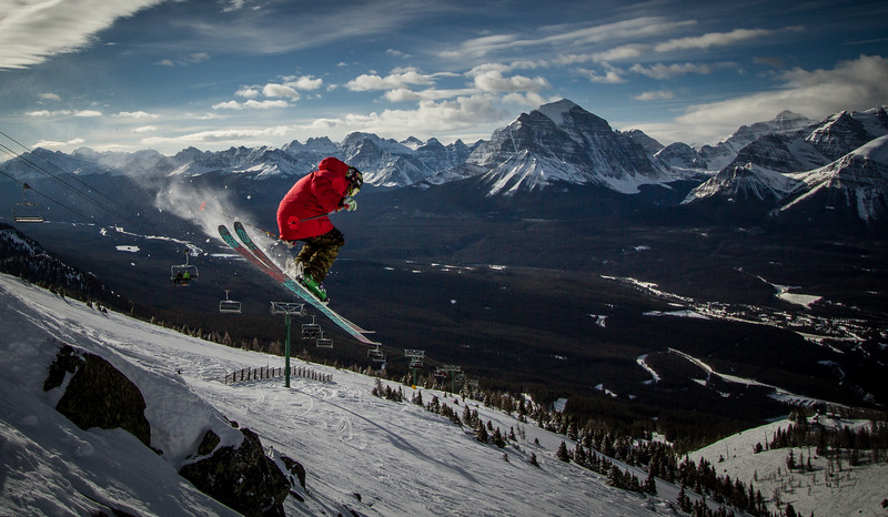 S. Ryan Durandurand, Lake Louise Ski Area